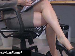 huge tits  masturbation  office
