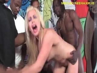 black  blonde  cougar