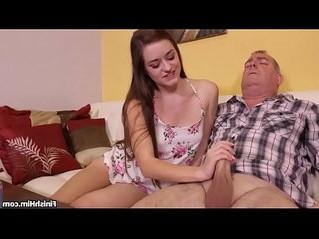 handjob  mature  stepdad