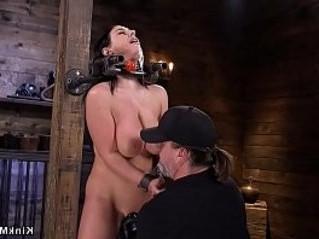 bondage  huge tits  slave