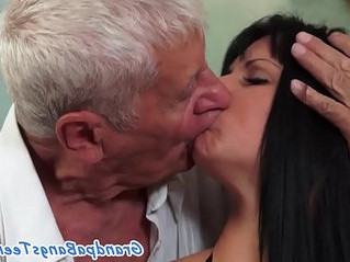 cock  hairy  old man