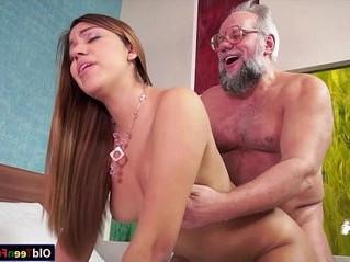 dick  grandpa  mouth
