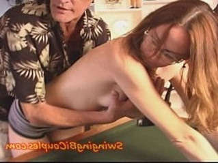 hubby   swallow   swingers
