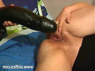 bizarre  dildo  vagina
