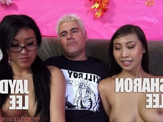 cock sucking  cum on tits
