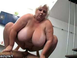 big tits  blonde  grandma