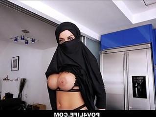 arab  busty  pov