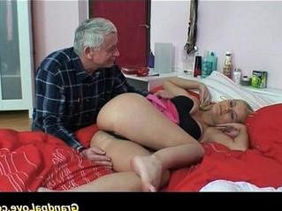 ass worship  grandpa