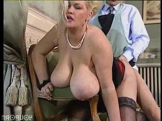 bbw  blonde  cougar