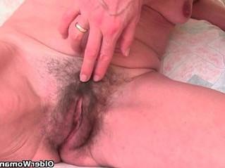 fingering  grandma  skinny