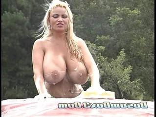 huge tits  taxi